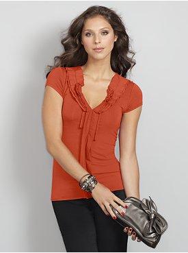 terracotta shirt